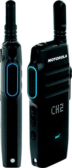 TLK-100 WAVE PTX Funkgerät Trageholster PMLN7932 + 230V EU USB-Ladegerät