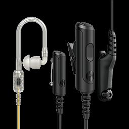 Dreiadriges Überwachungsset, Loud Audio, schwarz (PMLN8084)