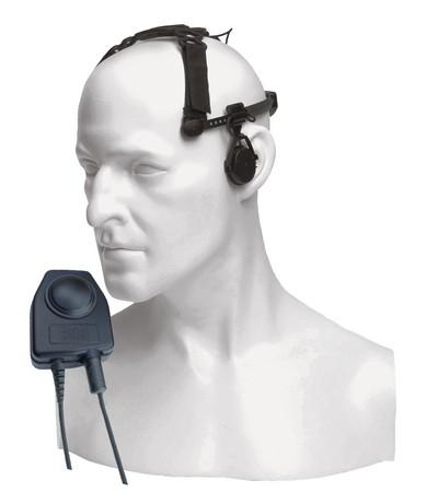 CXR5/450HX-Serie Körperschall-Hörsprechgarnitur