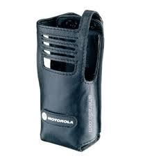 MOTOROLA Weichledertasche DP3400/DP3401 fest