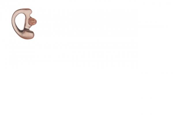 Ohreinsatz flexibel rechts für Ohrhörer mit Schallschlauch Farbe klar Grösse L RLN4762A