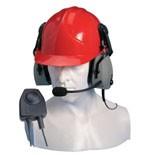 Hörsprechgarnitur für Helm mit PTT Taste CHP450HD für HX-Serie