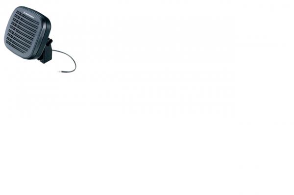 Lautsprecher 13W im schwarzen Gehäuse eckig RSN4002A