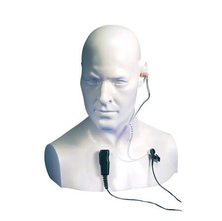 Ohrhörer mit Akustikschlauch und Mikrofon für HX-Serie, EA15/450