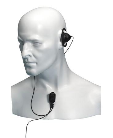 EA12/450 HX-Serie Ohrhörer D-Bügel und Mikrofon