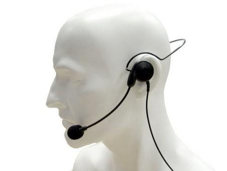 Hörsprechgarnitur mit Nackenbügel CHP1/450 L/W HX-Serie