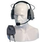 Hörsprechgarnitur mit Bügel und PTT Taste CHP750D für HT-Serie