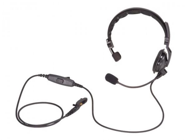 Kopfhörer VH-215s leichte Ausführung mit gepolstertem Überkopfbügel und boom-Mikrofon VH-215s