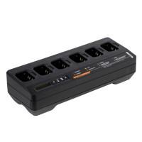 Ladegerät 6-fach PMPN4289 IMPRES inkl. EU-Kabel für DP2000-Serie + DP4000-Serie + MTP8Ex-Serie