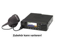 DM4600e (enhanced) VHF 136-174MHz MFG inkl. STD-Mikro RMN5052 + Halter RLN6466 + Batteriek. HKN4191