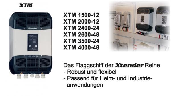XTM 1500 - 4000 Wechselrichter/Batterielader
