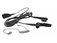 FBI Garnitur 2 Leitungssystem Kabel schwarz für verdeckte Trageweise e