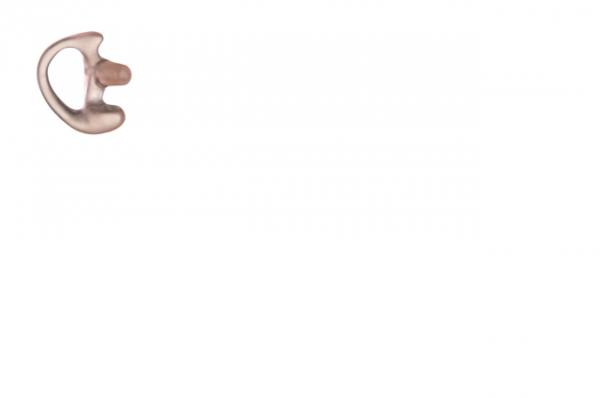 Ohreinsatz flexibel rechts für Ohrhörer mit Schallschlauch Farbe klar Grösse S RLN4760A
