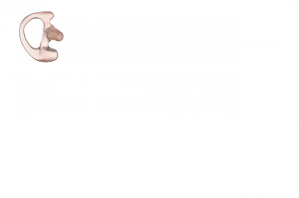 Ohreinsatz flexibel rechts für Ohrhörer mit Schallschlauch Farbe klar Grösse M RLN4761A